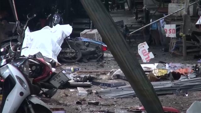 Doden en gewonden na bomaanslag op Thaise markt