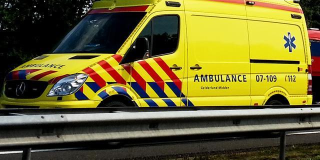 Zes gewonden bij auto-ongeluk A27