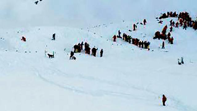 Doden door lawine in Franse Alpen