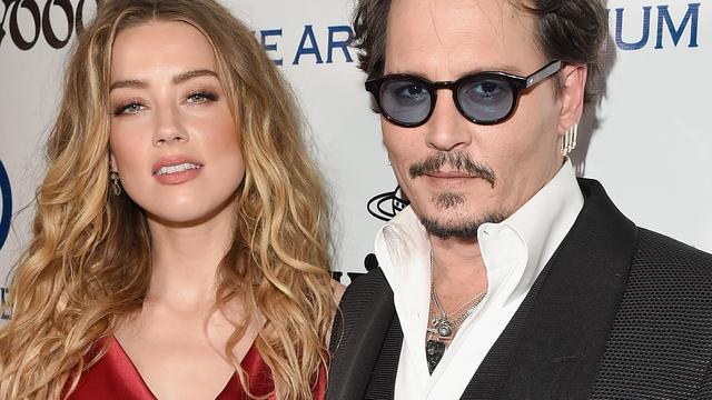'Johnny Depp verandert tattoo over ex Amber Heard'