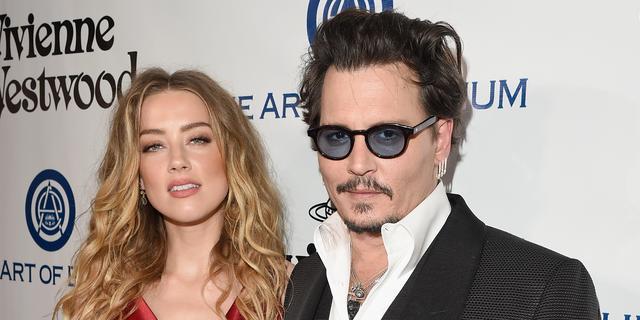 'Amber Heard vraagt scheiding met Johnny Depp aan'