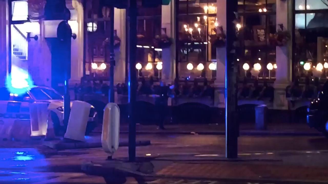 Britse politie rukt massaal uit na aanslag Londen