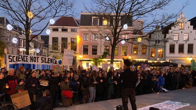 Verschillende klimaatdemonstraties in Utrecht