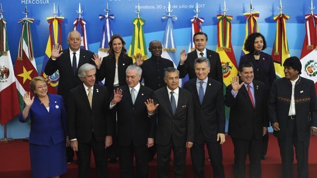 Zuid-Amerikaans handelsblok is tegen militair ingrijpen in Venezuela