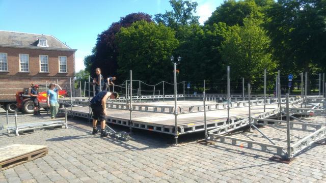 Overzicht: De verbouwingen aan de Vrede Fontein in Breda tot nu toe