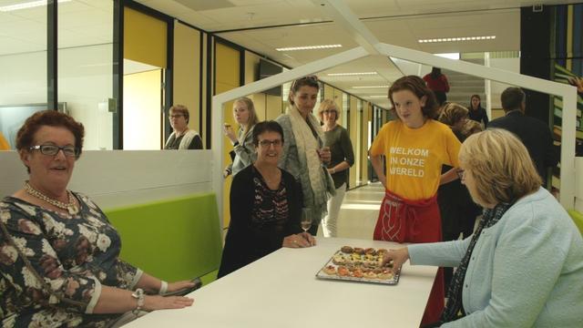 Brugklasgebouw KSE officieel geopend