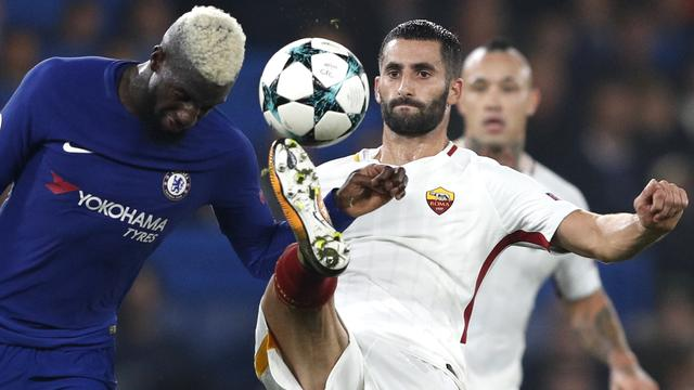 Samenvatting Chelsea-AS Roma (3-3)