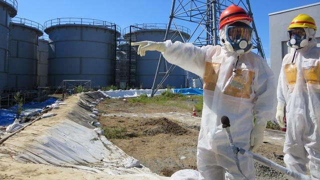 Te hoge stralingswaarden bij hulpverleners Fukushima