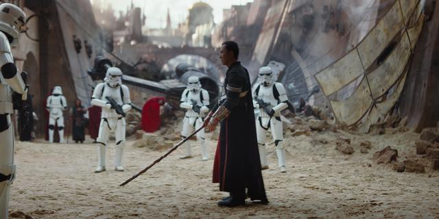 Rogue One domineert bioscopen tijdens feestdagen