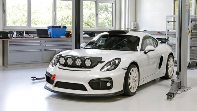 Porsche hint naar nieuw model met Cayman GT4 Clubsport Rally Concept