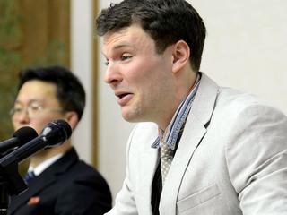 Volgens familie liep hij ernstig hersenletsel op door marteling in Noord-Korea
