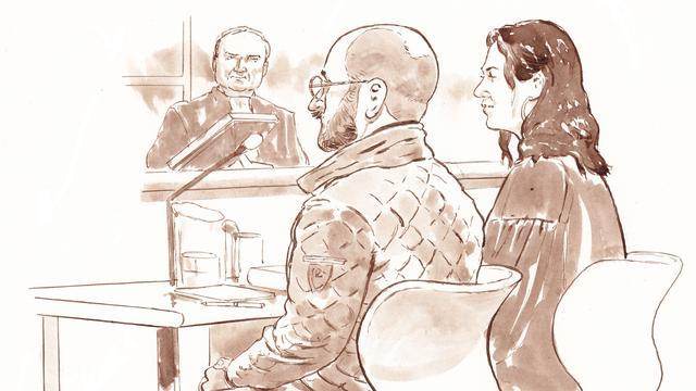 Bart van U. condoleert familie Els Borst in rechtszaal