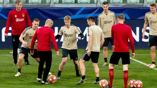 Frenkie de Jong nog twijfelgeval bij Ajax voor CL-return tegen Juventus
