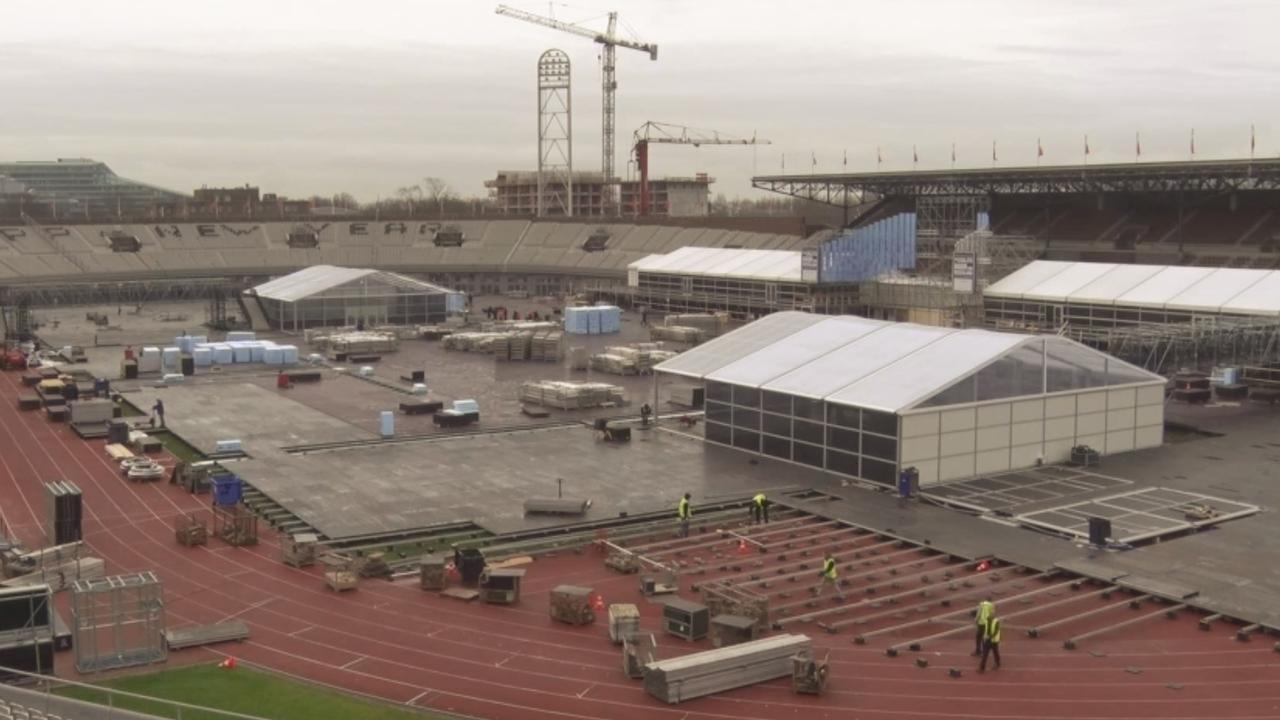Olympisch Station wordt tijdelijke schaatsbaan