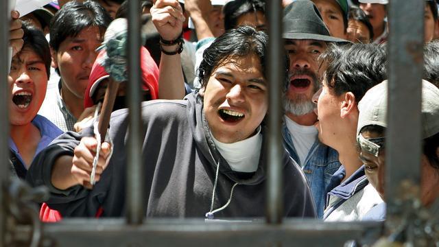 Meerdere doden bij gevangenisopstand Bolivia