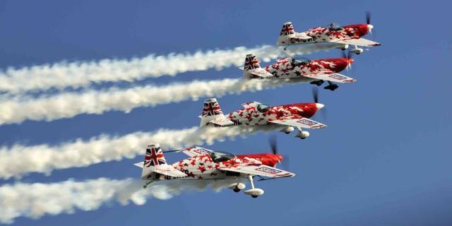 Britse vliegshow tijdens Rescue Vlissingen