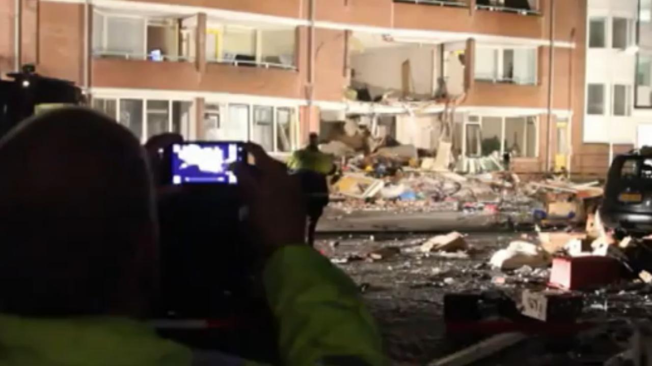 Bekijk hier de ravage na de explosie in Drachten: