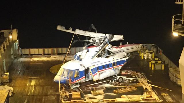 Nog zeven vermisten na berging neergestorte helikopter bij Spitsbergen