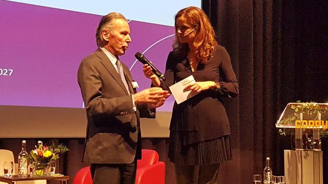 Politicus Elco Brinkman te gast bij talkshow in Maredijkhuis