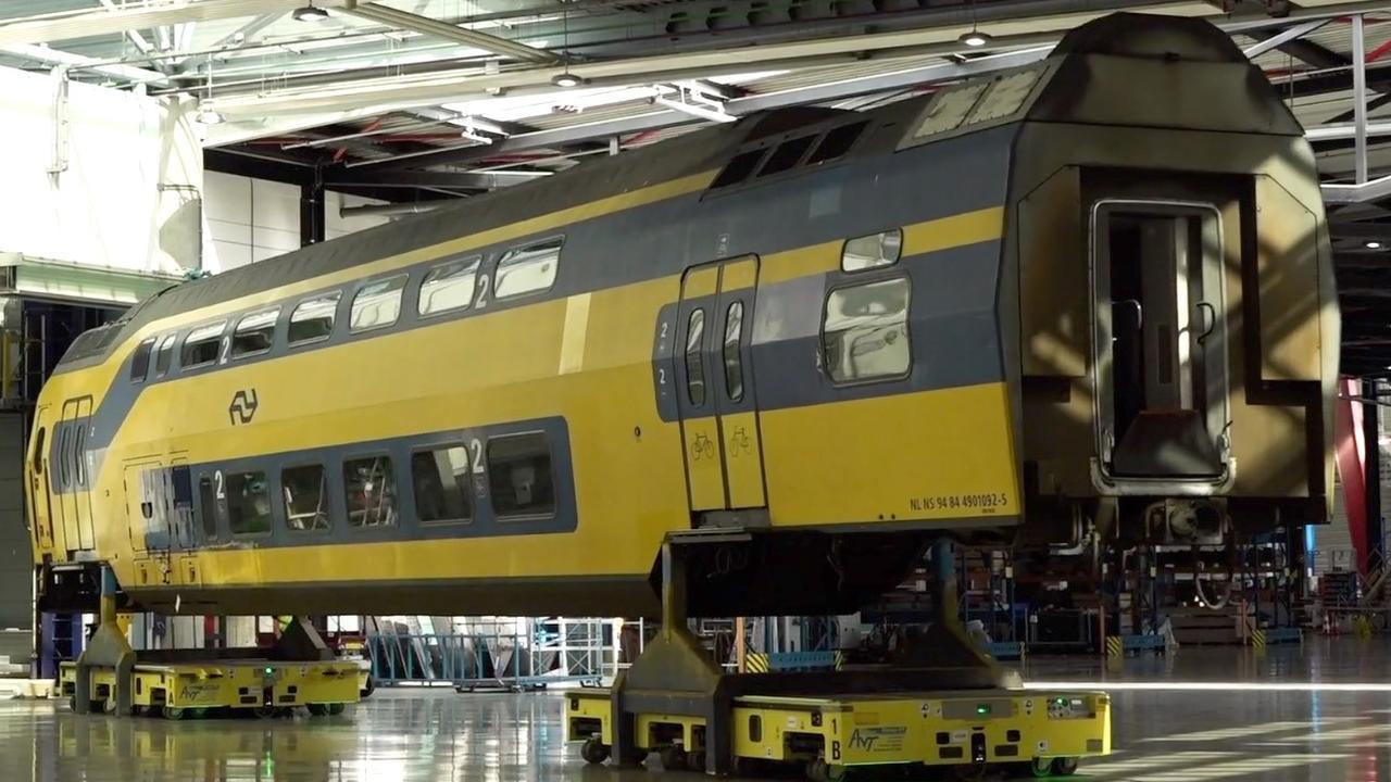 Op de NS-werkplaats: Van spooktrein tot splinternieuwe intercity