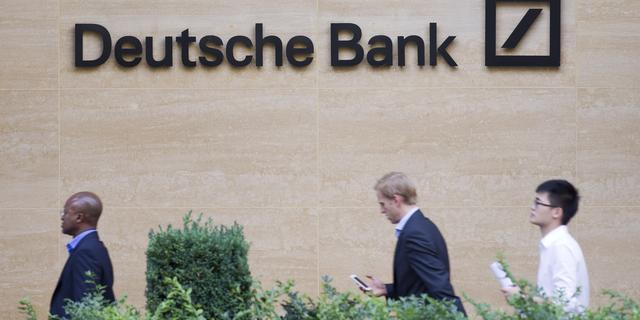 'Deutsche Bank overweegt bonus in contanten af te schaffen'