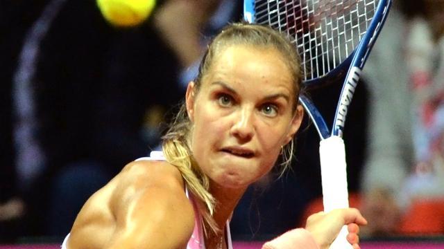Rus verliest kansloos in eerste WTA-duel sinds een jaar