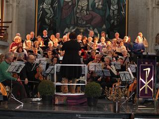Bijna vijftig zangers en zangeressen op de been