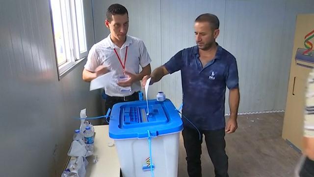 Grote aantallen Koerden stemmen in referendum om onafhankelijkheid