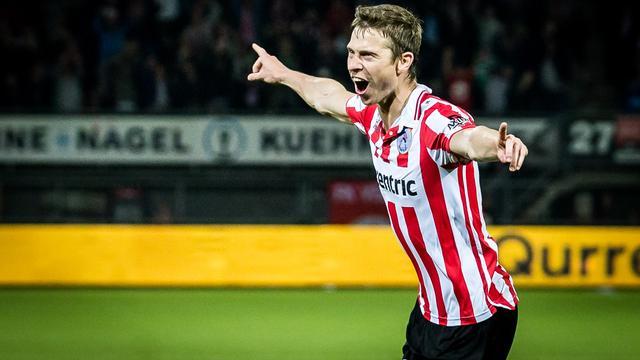 NAC Breda huurt Mühren voor rest van seizoen van Zulte Waregem