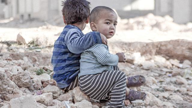 'Bijna negentig miljoen kinderen leven sinds geboorte in conflictzone'