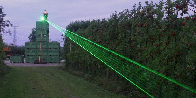 EU onderzoekt laserhek om ongedierte te weren