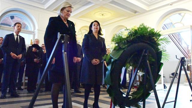 Slachtoffers van oorlogssituaties herdacht op Binnenhof