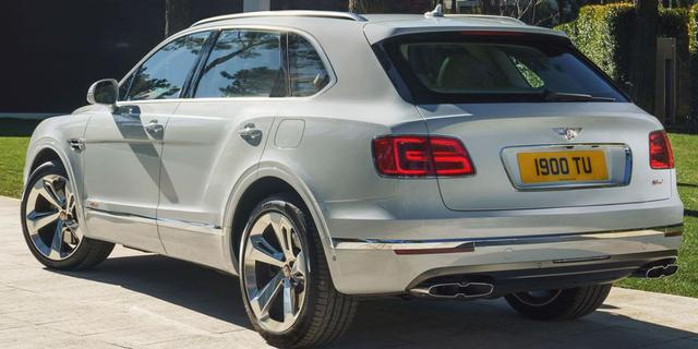Bentley Bentayga plug-in hybride uitgelekt