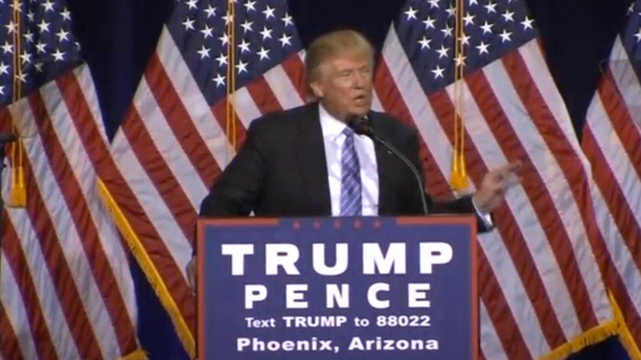 Trump wil illegale immigranten in VS keihard aanpakken
