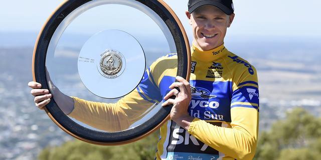 Froome wint slotrit en pakt eindzege in Herald Sun Tour