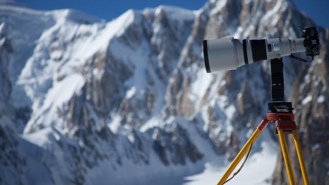 Mont Blanc vastgelegd op foto van 365 gigapixels