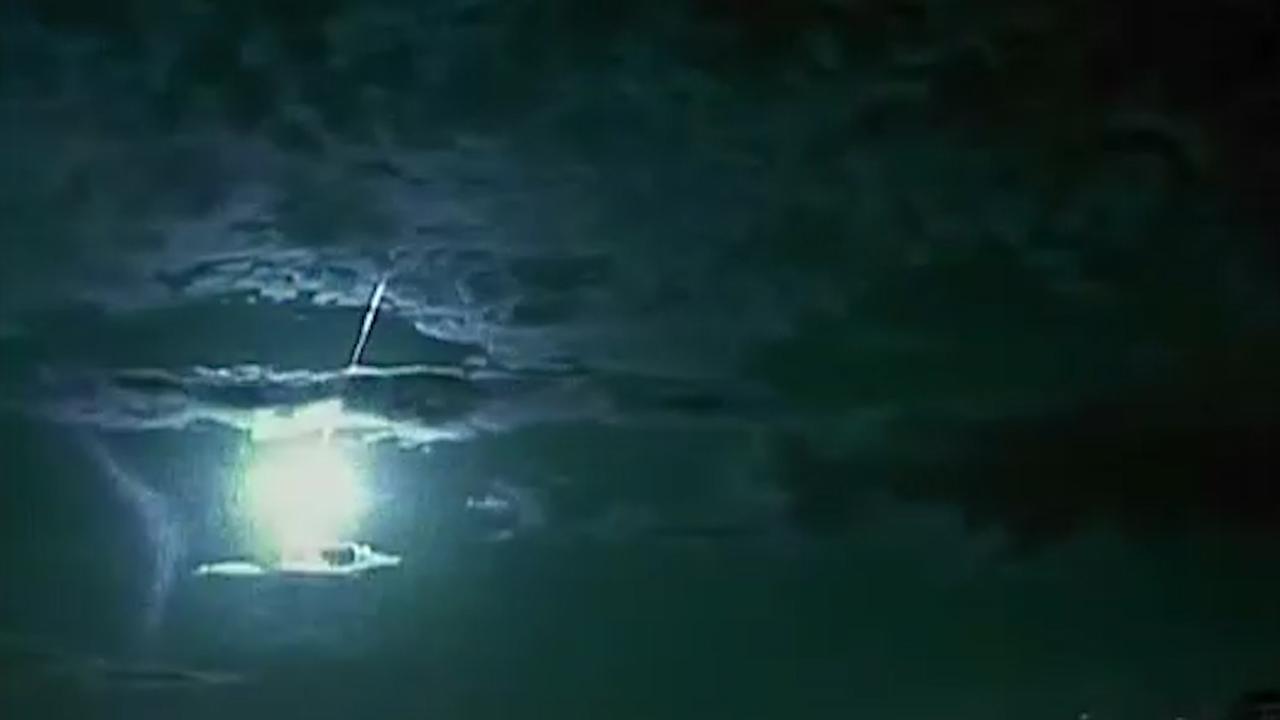 Meteoriet verlicht lucht boven Brazilië