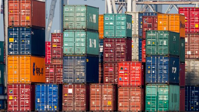Kwart containervervoer in Rotterdam afkomstig uit China
