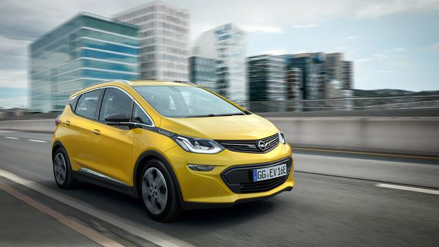 Opel onthult Ampera-e