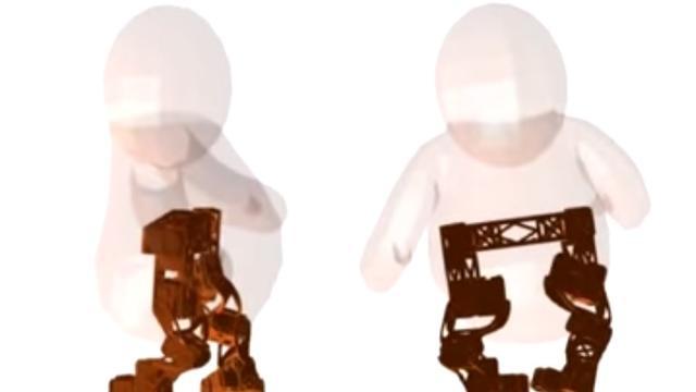 Disney laat robot lopen zoals 3d-animatie