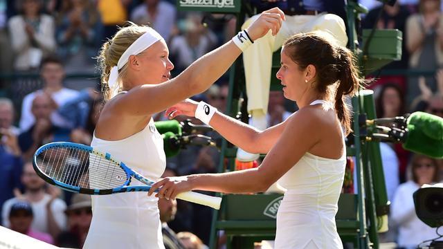 Bertens verliest in kwartfinale Wimbledon van Duitse Görges