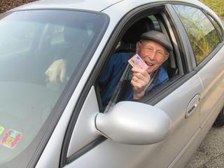 Aantal 75-plussers met een rijbewijs is de laatste jaren gestegen