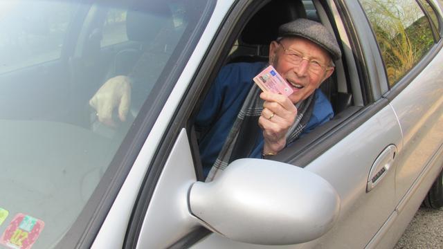 Rijsbergenaar John Verbraak mag voorlopig tot zijn 104e autorijden