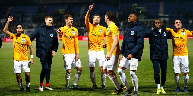 De Graafschap wint verrassend bij PEC, NAC pakt punt tegen Groningen