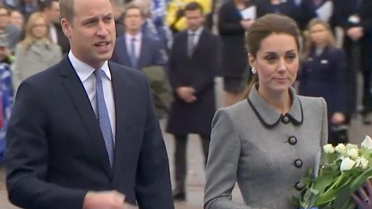 Kate en William herdenken crash helikopter Leicester