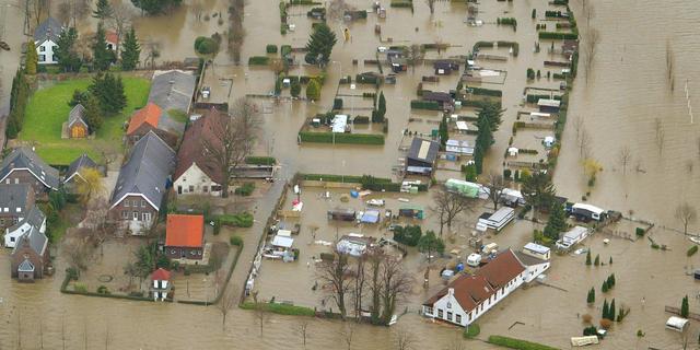 Gemeente moet volgens experts stoppen met bouw in laaggelegen riviergebied