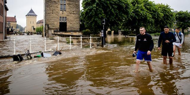 Burgemeester en waterschap oneens over hoogwaterbescherming Valkenburg