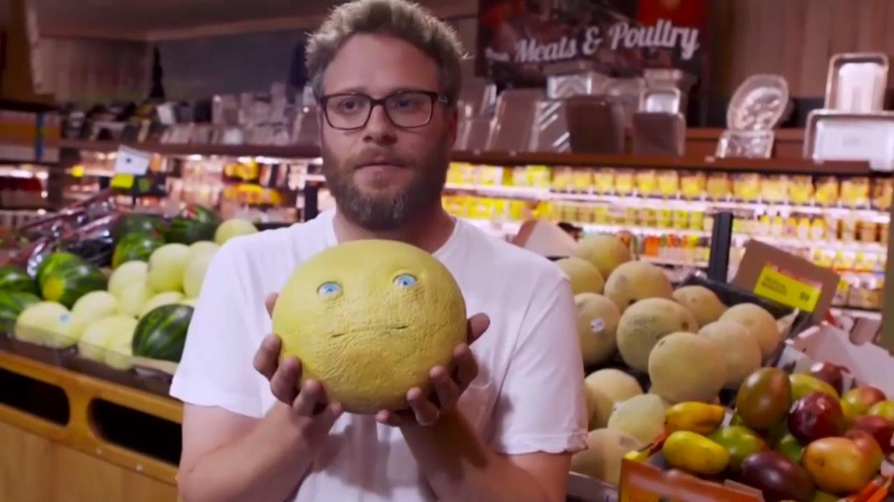 Seth Rogen prankt mensen met pratend fruit