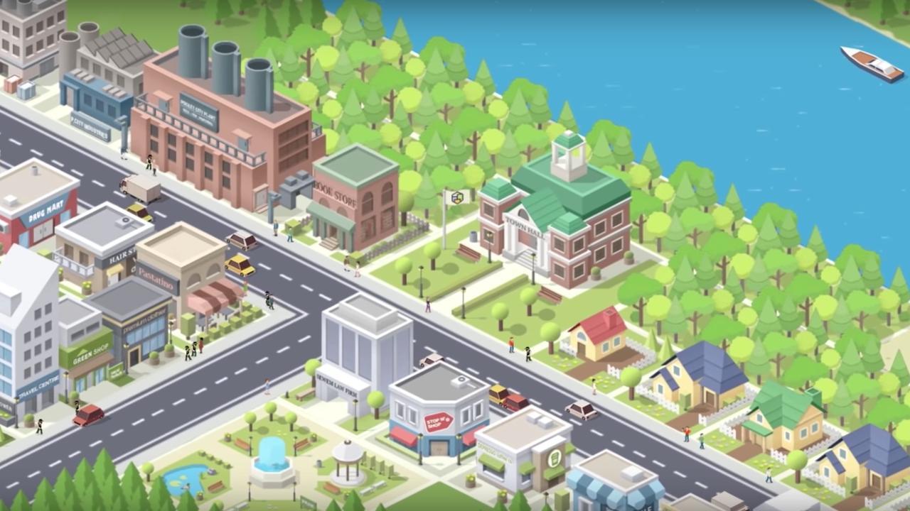 Bouw je eigen stad met Pocket City