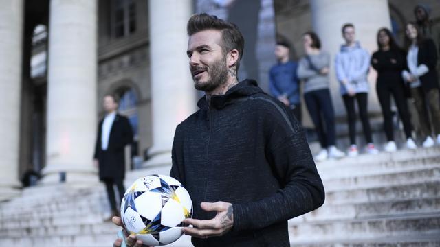 David Beckham krijgt hoge onderscheiding van UEFA